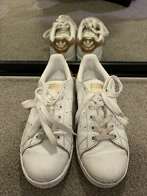 AU50 • Buy Adidas Stan Smith White And Gold US 6