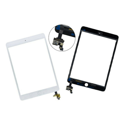 For IPad Mini 1/2 Touch Glass Digitizer Screen Replacement +IC Home Button UK  • 9.99£