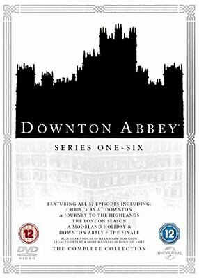 Downton Abbey Complete Collection DVD Box Set Series Seasons 1-6 UK New • 43.79£