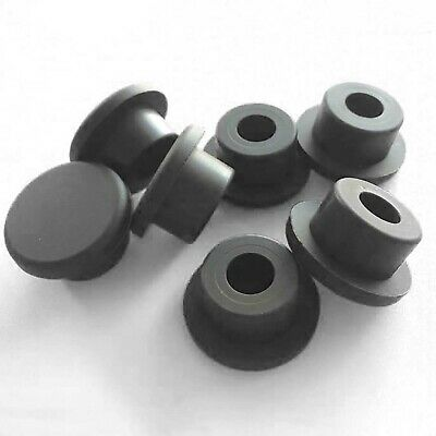 Black Silicone Rubber Blanking End Caps Tube Pipe Inserts Plug Bung 3 - 14mm • 1.45£