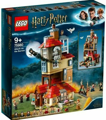 AU117.77 • Buy LEGO 75980 Harry Potter Attack On The Burrow (Brand New Sealed)