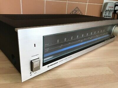 VINTAGE PIONEER TX- 520L AM/FM STEREO TUNER - Made In Japan, Vintage Seperates • 18£