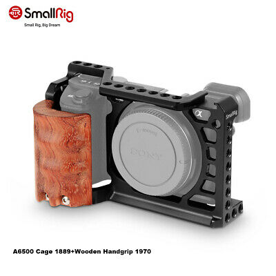 $ CDN68.53 • Buy SmallRig Camera Cage Kit For Sony A6500 Camera With Wooden Handle Grip 2097 US