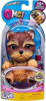 £14.99 • Buy OMG Little Live Pets YORKIE Dog - 15+ Sounds & Reactions Electronic Pets - NEW