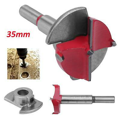 £5.29 • Buy Hinge Hole Boring Cutter Wood Drill Bit Sizes Available 35mm