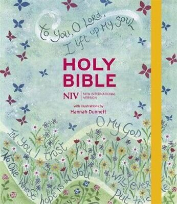 NIV Journalling Bible Illustrated By Hannah Dunnett (new Edition) • 21.27£