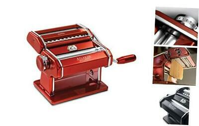 $144.22 • Buy Marcato Atlas 150 Machine, Made In Italy, Red, Includes Pasta Cutter, Hand Crank