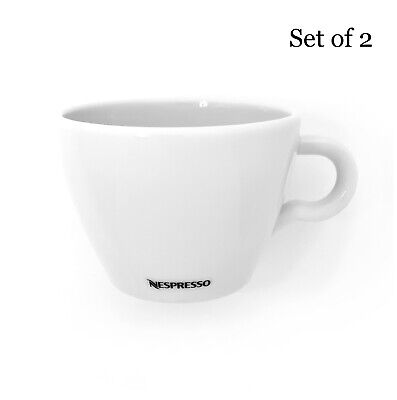 AU9.95 • Buy Nespresso Professional Cappuccino Cups 170ml Porcelain Set Of 2