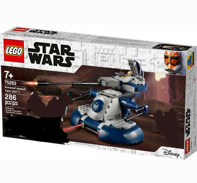 AU34 • Buy Lego Star Wars 75283 - Clone Armored Assault Tank (AAT) SET ONLY. No Minifigs.
