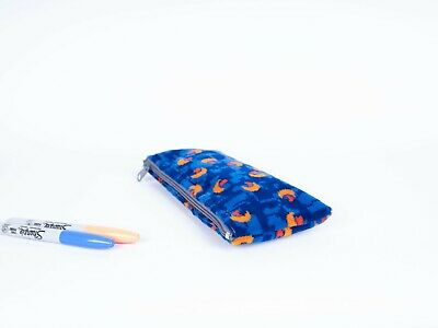 £14.95 • Buy Pencil Case Made From Stagecoach Blue Beach Ball Bus Moquette