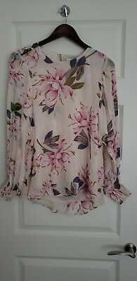 AU39 • Buy Witchery Floral Blouse Shirt New