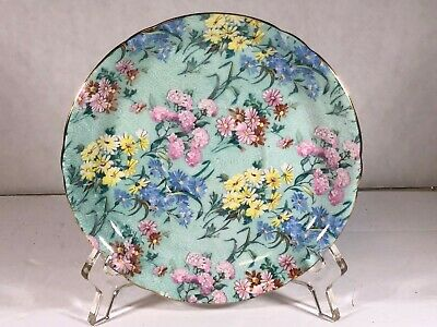 Shelley China Round Saucer In Glorious Melody Chintz Pattern No. 13453 • 11.79£