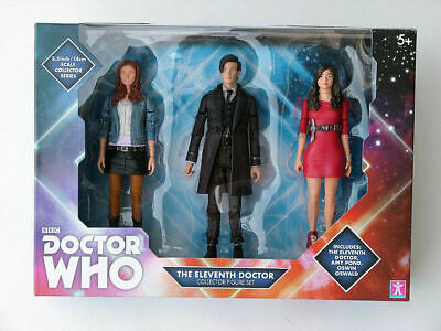 Doctor Who 5  Eleventh Doctor Clara And Amy Pond Collectors Action Figure Set • 20£