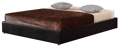 AU348.95 • Buy PU Leather Double Bed Ensemble Frame
