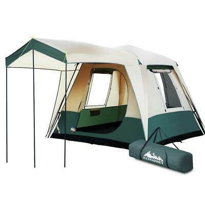 AU234.95 • Buy Weisshorn Instant Up Camping Tent 4 Person Pop Up Tents Family Hiking Dome Camp