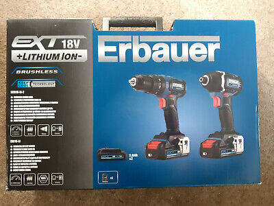 View Details Erbauer 18v Combi Drill • 56.00£