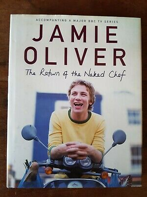 AU15 • Buy Jamie Oliver - The Return Of The Naked Chef - 2000 - Hardcover - 288 Pages