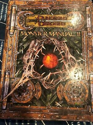 AU12.50 • Buy Dungeons And Dragons D&D Monster Manual 2 II 3rd Edition (2002)