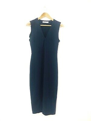 AU30 • Buy Atmos & Here Women's Navy Blue Bodycon Straight Cocktail Party Dress Size 10