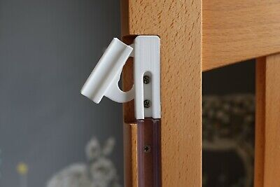 Bedside Cot Fittings, Drop Latch / Catch Left & Right, Spare Parts, Mothercare • 12.99£
