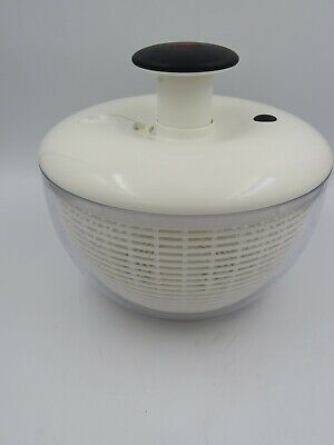 £9.56 • Buy OXO Clear Salad Spinner White Top 10
