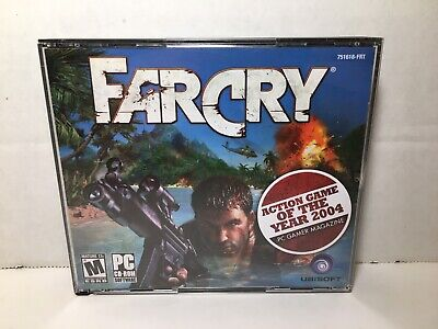 AU15.14 • Buy Far Cry PC CD-ROM Game 5 Discs Game Of The Year 2004 Used