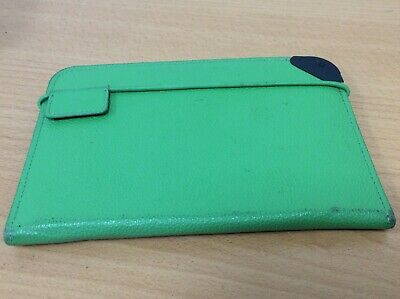 Amazon Kindle Keyboard Green Leather Lighted Cover Case - Slide Out Light • 15£