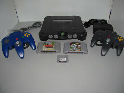 AU299.95 • Buy Nintendo 64 Console With 2 Games & Controller Pak Tested & Working Free Postage