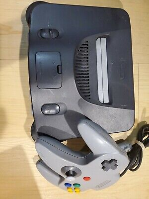 $ CDN107.04 • Buy Nintendo 64 N64 System Console With 1 Controller Authentic & Clean!!