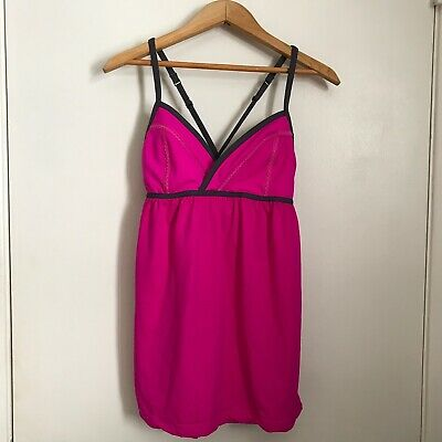 $ CDN30 • Buy Lululemon Rehearsal Tank 4 Paris Pink Yoga Dance Pretty Sleeveless Top