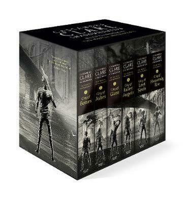 The Mortal Instruments Boxed Set By Cassandra Clare (English) Book & Merchandise • 36.55£
