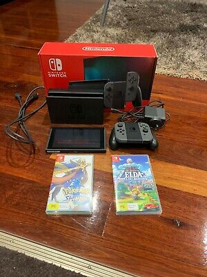 AU365 • Buy Nintendo Switch Grey Joy-Controller Bundle Grey Console