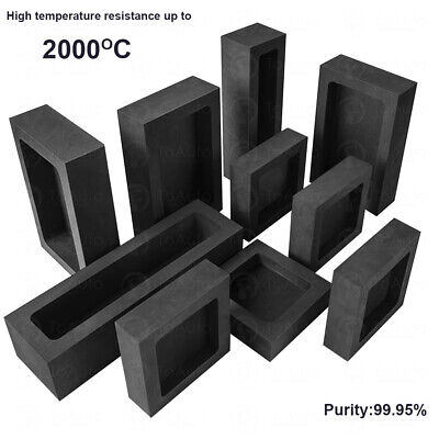 Graphite Ingot Mold Mould Bar For Gold Silver Copper Melting Jewellery Making • 10.99£