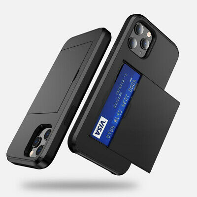 AU5.99 • Buy For IPhone 11 Pro Max/XR/7/8 Phone Protection Case With Credit Card Slot Holder