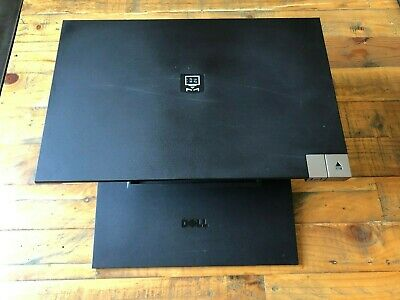 Dell Laptop Monitor Stand EPort Workstation Dell Part 0PW395 Good Working Order • 12£