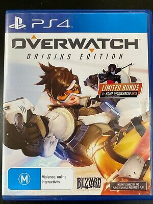 AU30 • Buy Overwatch: Origins Edition - PS4 - Multiplayer Shooter - Free Postage - Used
