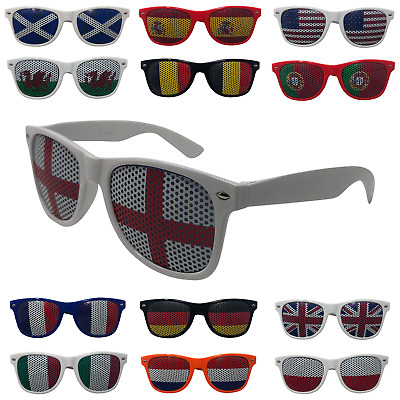 Adults Novelty Country Flag Sunglasses UK Mens Womens England Great Britain USA • 1.99£