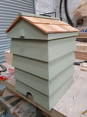 Beehive Composter With Cedar  Shingle Roof - Handmade To Order • 175£
