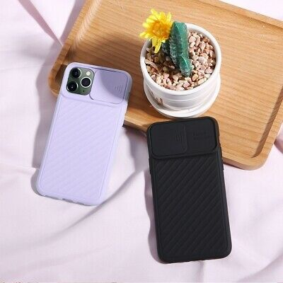 Case For Iphone 11 / Pro / Max Slim Silicone Luxury Shockproof Camera Lens Slide • 3.99£