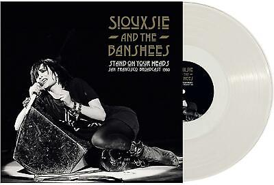 £19.99 • Buy Siouxsie & The Banshees – Stand On Your Heads 2x Clear Vinyl Lp (new) Live