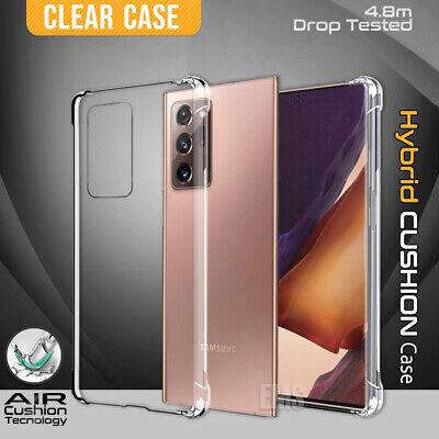 AU4.99 • Buy For Samsung Galaxy S20 FE 5G Note 20 Ultra S20 Plus Clear Case Shockproof Cover