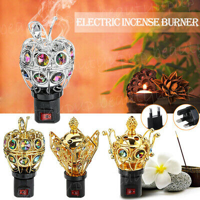 UK/EU Plug Wireless Electric Incense Burner Bakhoor Fragrance Spray Arabian Gift • 8.49£