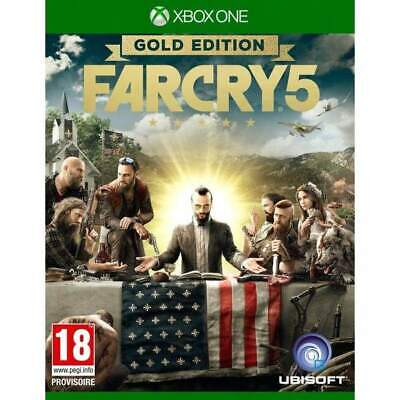 AU52.66 • Buy Farcry 5 Gold Edition Xbox One Uk New