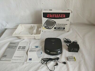 Aiwa Compact Disc Player XP-220 1 Bit DAC Fully Tested And Working Perfect • 24.99£