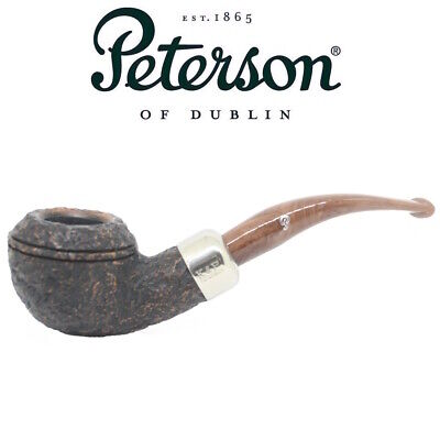 AU124.92 • Buy New Peterson - Derry Rustic 999 - 9mm Filter Bent Bulldog Pipe