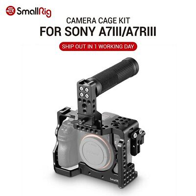 $ CDN213.21 • Buy SmallRig Camera Cage Kit For Sony A7R III/A7III With Top Handle Grip Cable Clamp