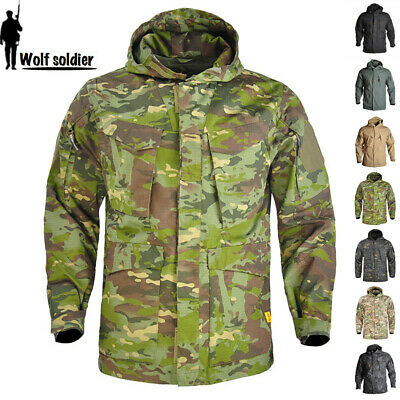 $66.49 • Buy Airsoft Mens M65 Field Jacket Tactical US Army Military Combat Casual Camo Parka