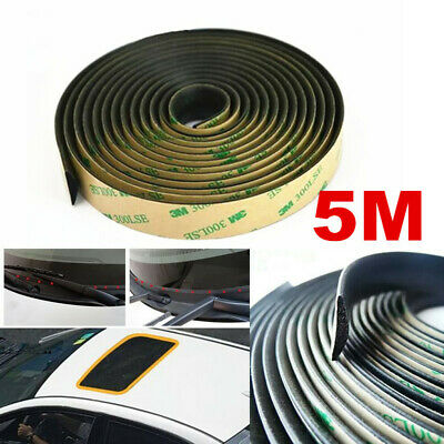 $ CDN25.12 • Buy  5M Rubber Seal Strip Trim For Car Front Rear Windshield Sunroof Weatherstrip