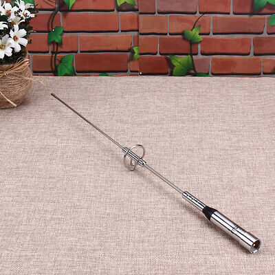 NR-770S Dual Band VHF/UHF 100W Car Mobile Ham Radio Antenna For TYT 17.5in • 7.38£