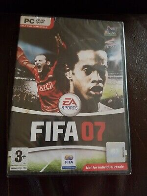 Fifa 2007( 07) Ea Sports PC DVD ROM Game New  Sealed  • 5.90£